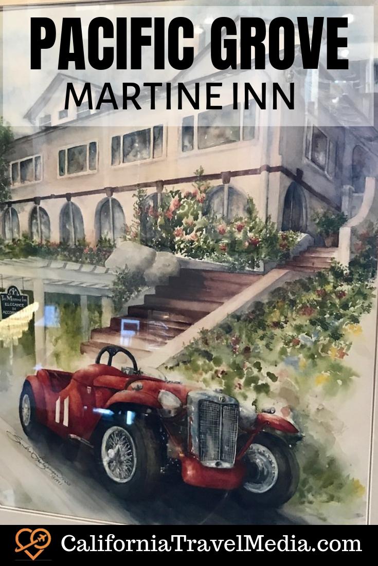 Martine Inn - Pacific Grove Bed and Breakfast #travel #trip #vacation #monterey #pacific-grove #inn #hotel #california