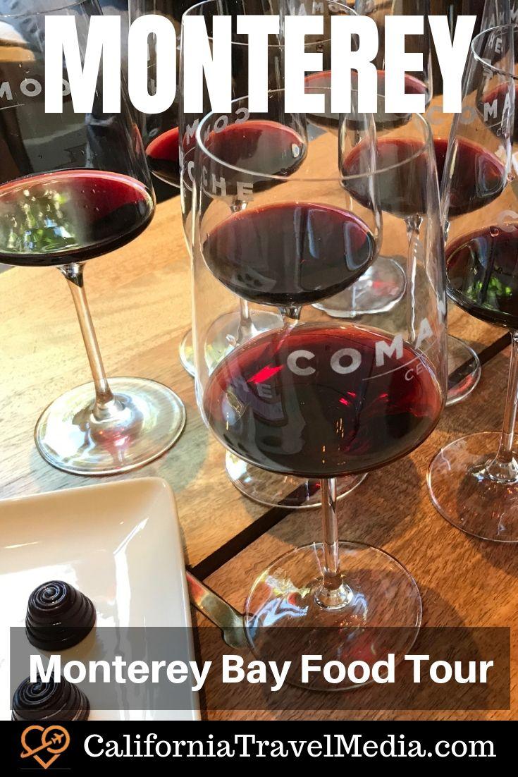 Monterey Bay Food Tour | Monterey Walking Tour #travel #trip #vacation #monterey #california #food #tour #wine #ice-cream #beer #history #restaurants