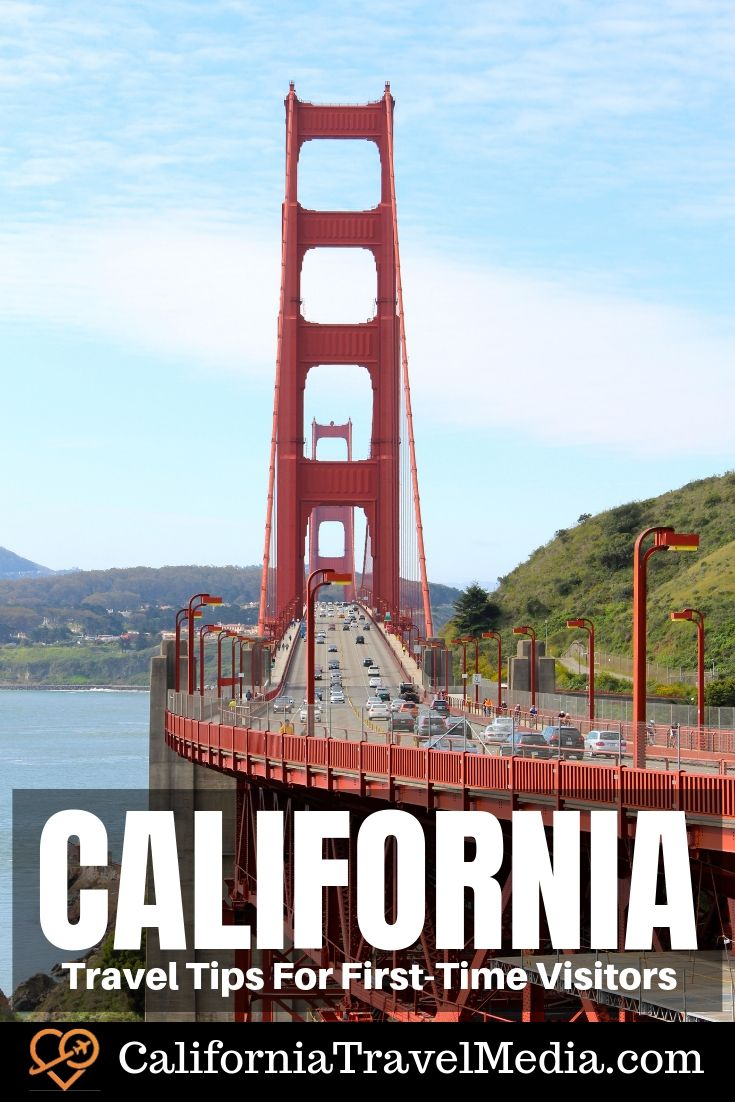 Travel Tips For First-Time Visitors to California #travel #trip #vacation #planning #itinerary #tips
