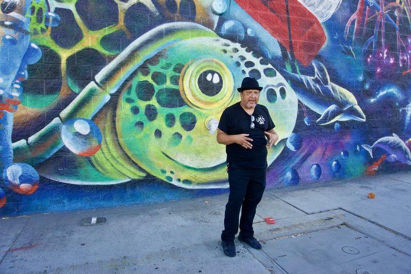LA Arts District Art Walk