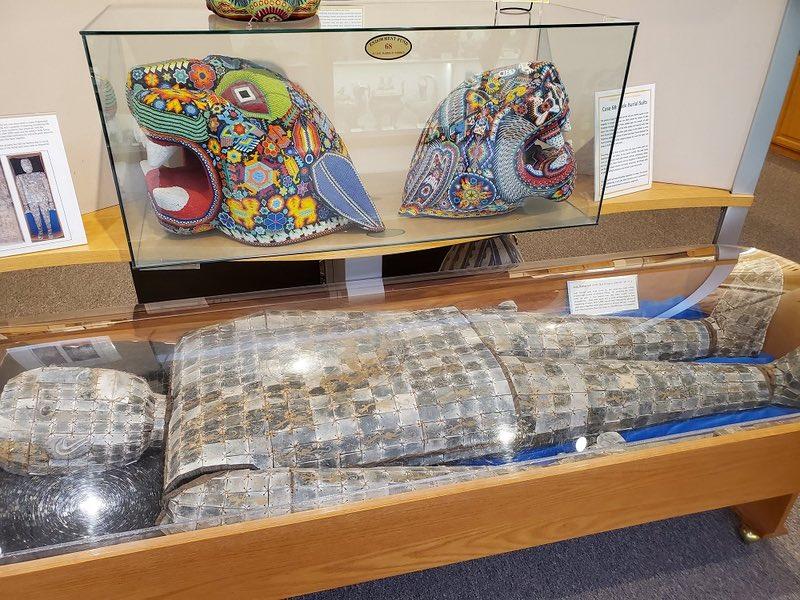 Heritage Museum burial suit