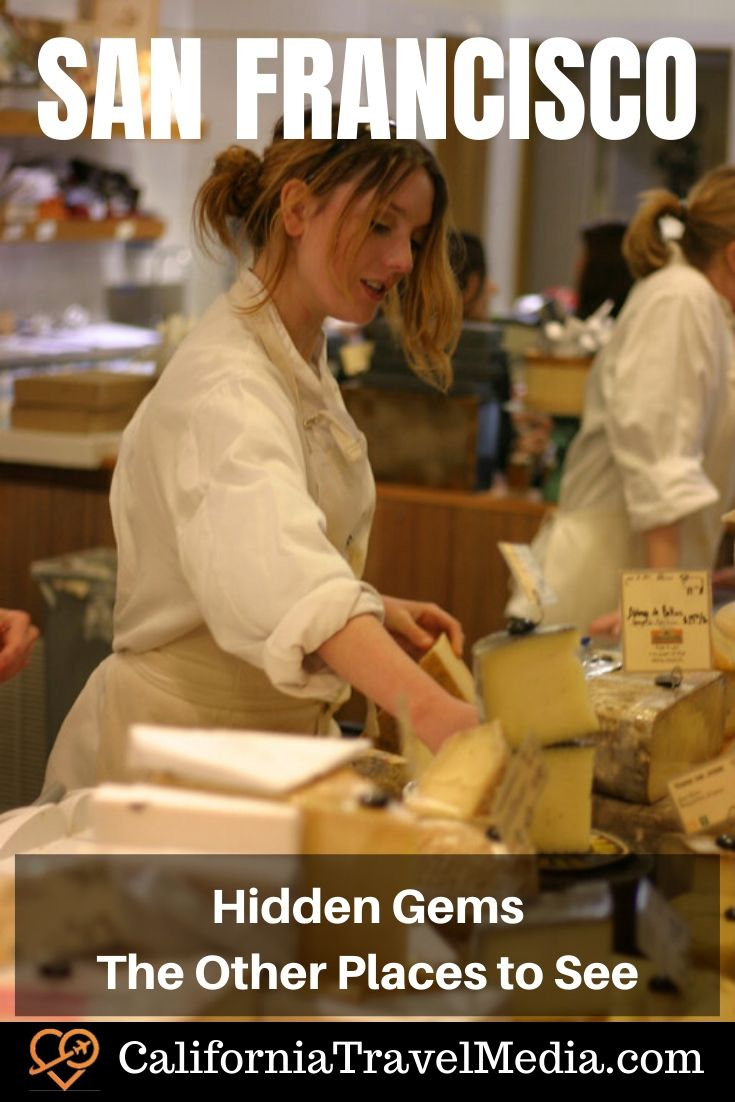 Hidden Gems - The Other Places to See   What to do in San Francisco   Places to see in San Francisco #travel #trip #vacation #california #sf #san-francisco #museum #park #food