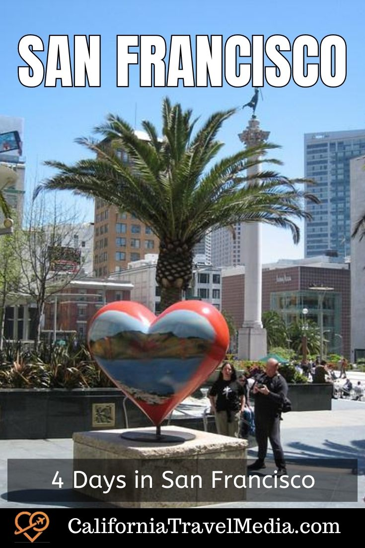 How to tackle San Francisco in just 4 days. An itinerary of what to do, eat and see in the City by the Bay. #san-francisco #sf #sfo #california #itinerary #4-days #things-to-do-in