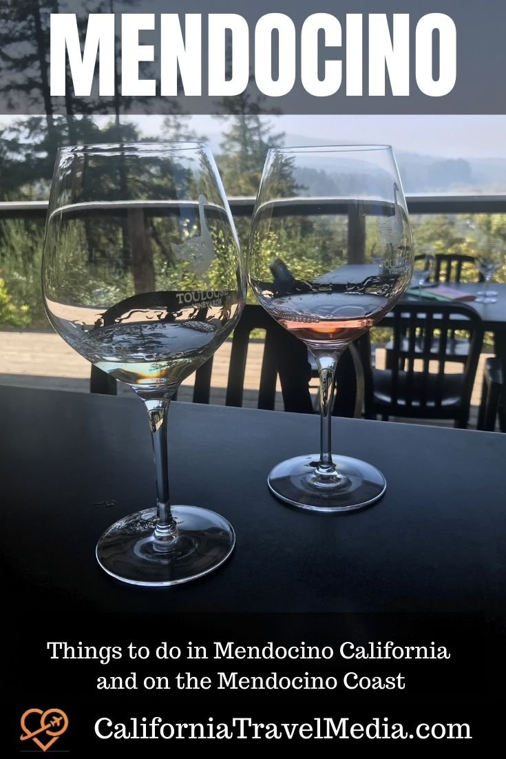Things to do in Mendocino California and on the Lost Coast #mendocino #skunk-train #coast #beach #redwoods #fort-bragg #wine