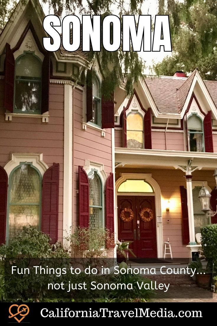 Fun Things to do in Sonoma County... not just Sonoma Valley   Things to do in Sonoma #sonoma #wine #beach #hikes #food #accomodation #travel #trip #vacation