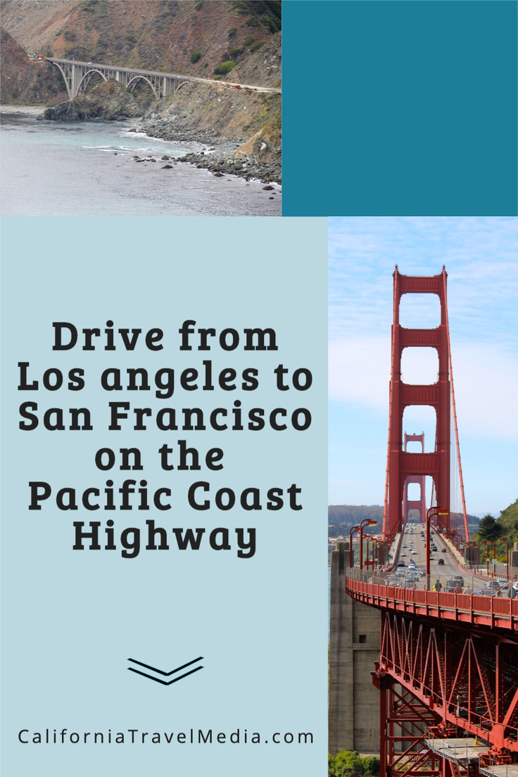 Drive from Los Angeles to San Francisco on the Pacific Coast Highway #california #sf #la #san-francisco #los-angeles #highway1 #pch #big-sur #travel #trip #vacation #road-trip