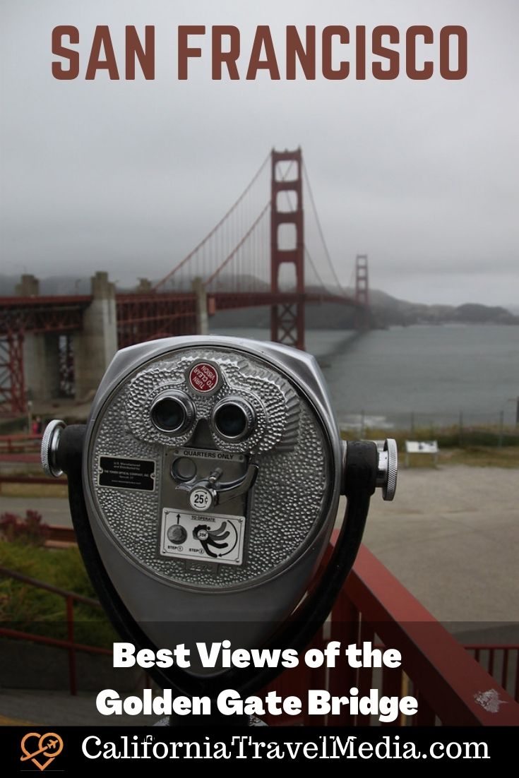 Best Views of the Golden Gate Bridge – A Guide for Photographers #travel #san-francisco #california #golden-gate-bridge #photography