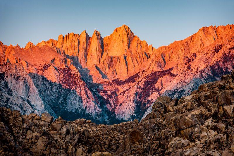 Sierra Vista Scenic Byway In California